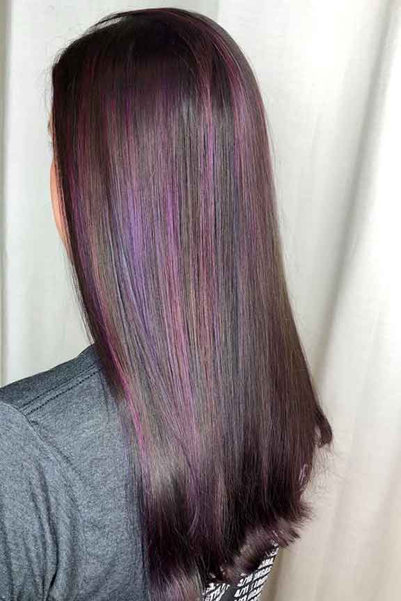 Roc's Unisex Salon - Color Highlights Dark