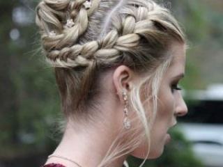 Roc's Unisex Salon - Formal Updo Wedding Hairstyle