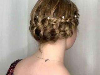 Roc's Unisex Salon - Formal Updo Wedding Style
