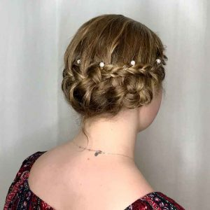 Roc's Unisex Salon - Formal Updo Wedding Style