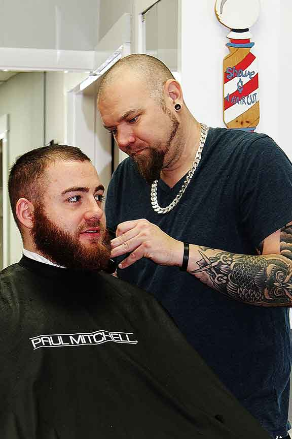 Roc's Unisex Salon - Men's Cut Beard Trim