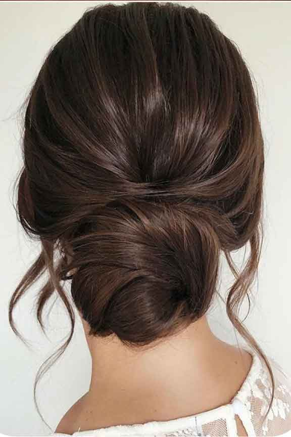 Roc's Unisex Salon - Formal Updo Hairstyle