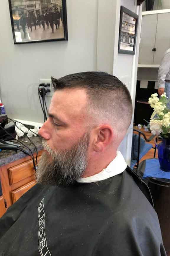 Roc's Unisex Salon - Men's Fade Cut